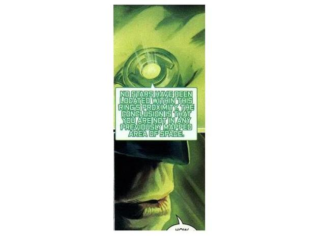 Green Lantern Corps Power Ring Version 1 - Size 7  3d printed Based on Alex Ross version