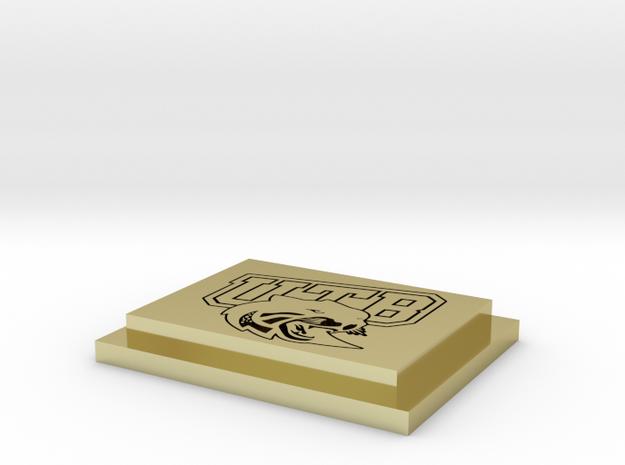 LOGO UTB 3d printed