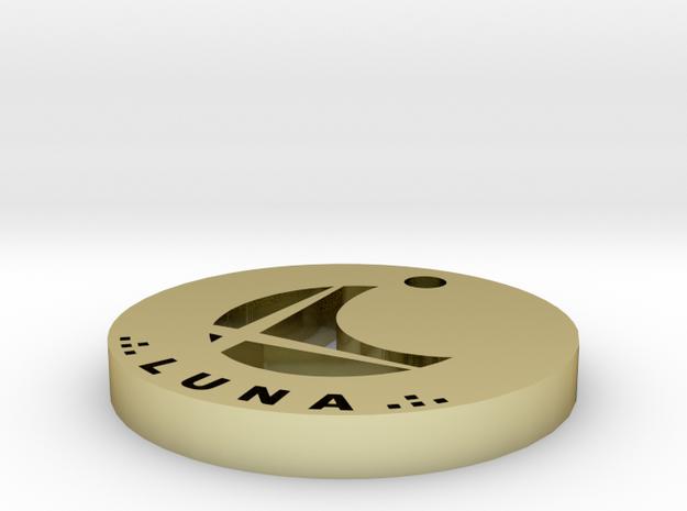 Luna Pendant Final 3d printed