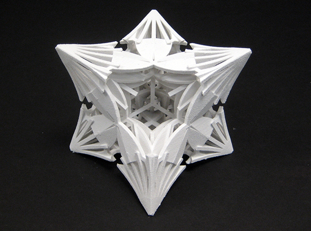 Star Blades by Jeff Hosford in White Natural Versatile Plastic