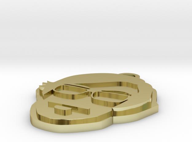 Stefan Braunstein Logo Keychain 3d printed