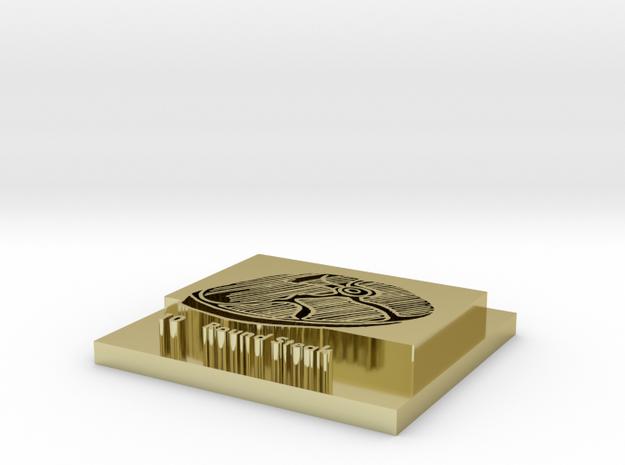 AWroundsteak 3d printed