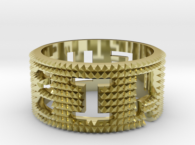 Punch ring 3d printed