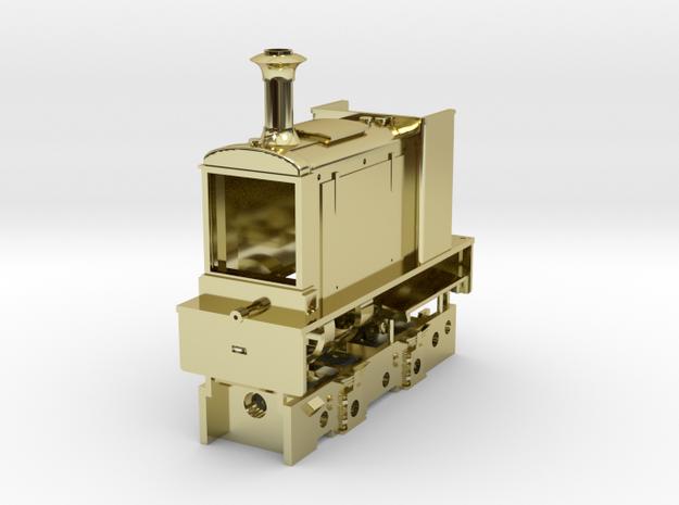 Hudswell Clarke D563/1930 ZM9 or Crewe (LMS 5519) 3d printed