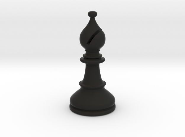 Bishop (Chess) 3d printed