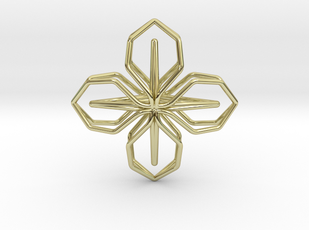 A-LINE Blossomhoney, Pendant in 18K Gold Plated