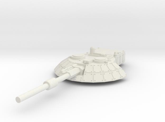 15mm Sci-Fi/Near Future Tank Turret 3d printed