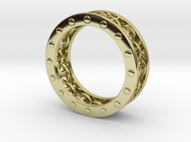 Mechanical Ring 3d printed