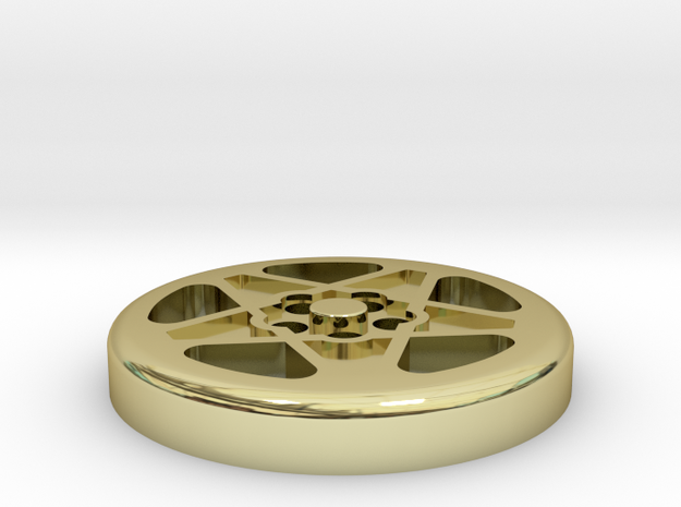 BUTTON CROMODORA WHEEL 308 12 MM 3d printed
