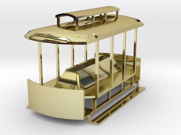 Tiny Streetcar 3d printed