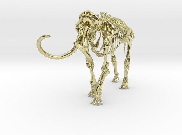 """Smithsonian Wholly Mammoth - 7"""" 3d printed"""