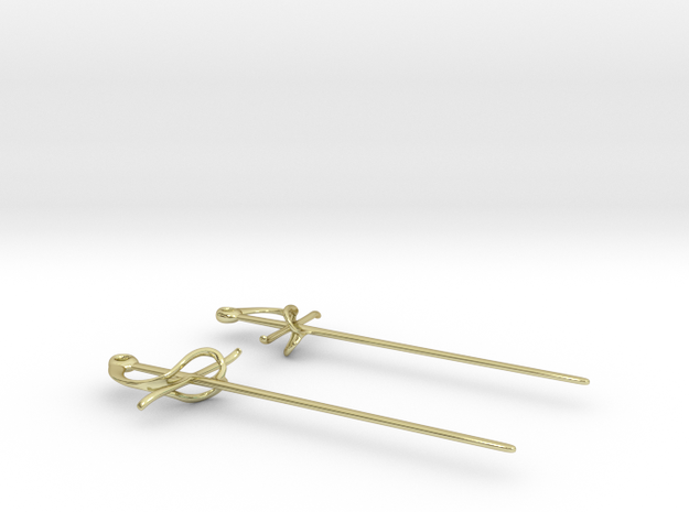 Rapier Earrings (17th c. Sword) 3d printed