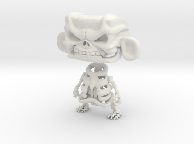 3inch MAD skeleton