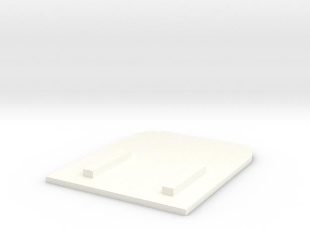 Quarterpanel single parallax Actvitybot Boebot in White Processed Versatile Plastic
