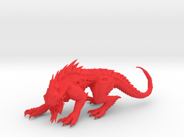 VorkaBeast 001 in Red Strong & Flexible Polished