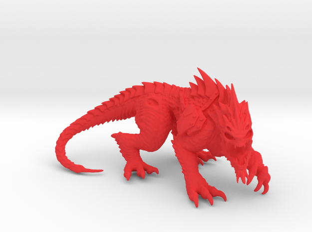VorkaBeast 002 in Red Strong & Flexible Polished