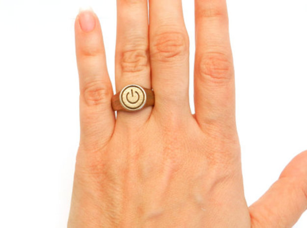 Power Ring 3d printed