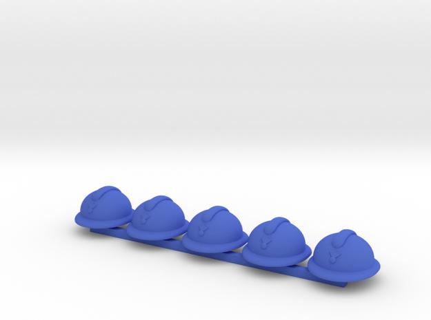 5 x Adrian in Blue Processed Versatile Plastic