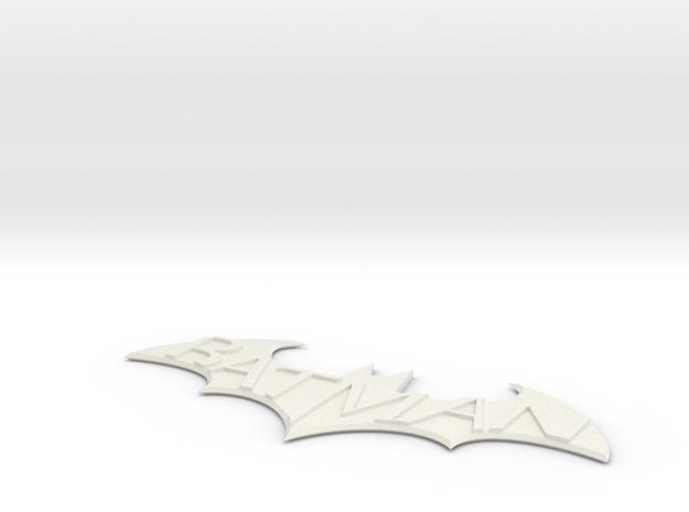 Batman Arkham Name Plate 3d printed