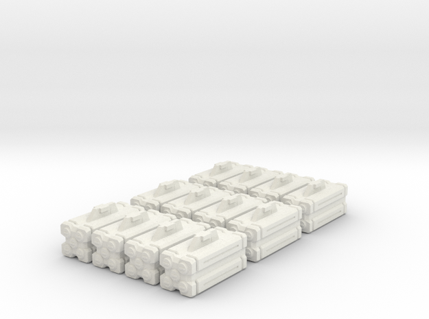 Armaments: VF Micro Missiles 6 Pack in White Strong & Flexible