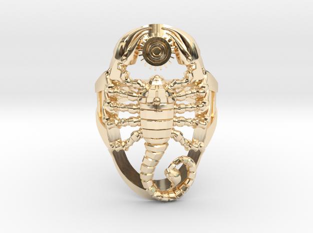 Scorpion Ring Size 6.5