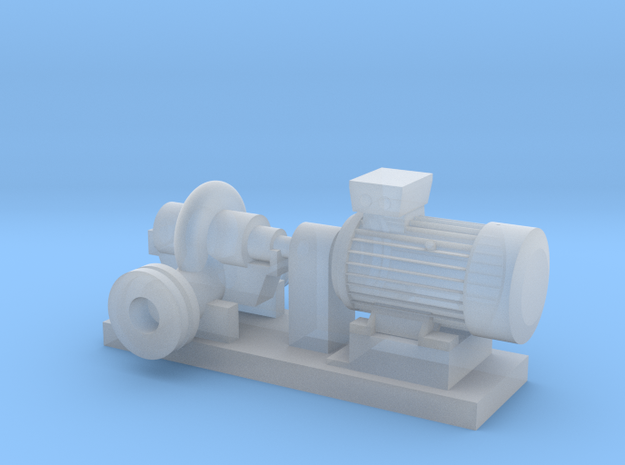 Centrifugal Pump #1 (Size 3) in Smooth Fine Detail Plastic