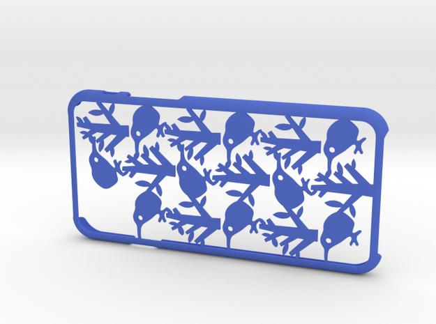 Bird iPhone6 case for 4.7inch in Blue Processed Versatile Plastic