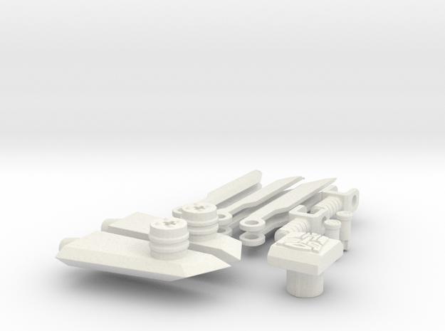 DOTM Voyager Skyhammer Assault Kit v2.0 in White Natural Versatile Plastic