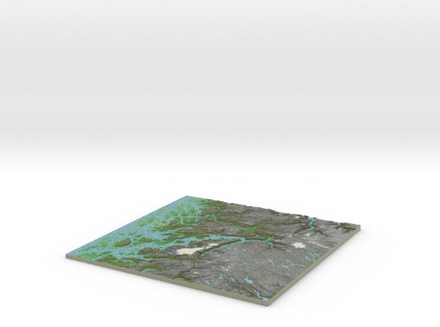 Terrafab generated model Wed Feb 04 2015 21:39:30  in Full Color Sandstone