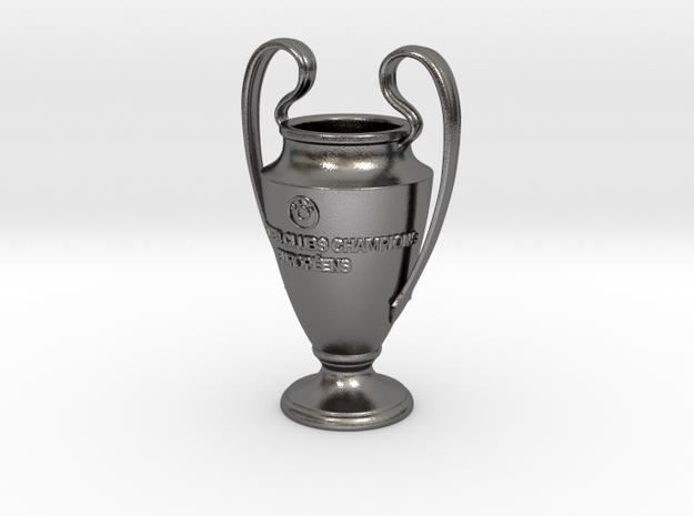 UEFA Cup in Polished Nickel Steel
