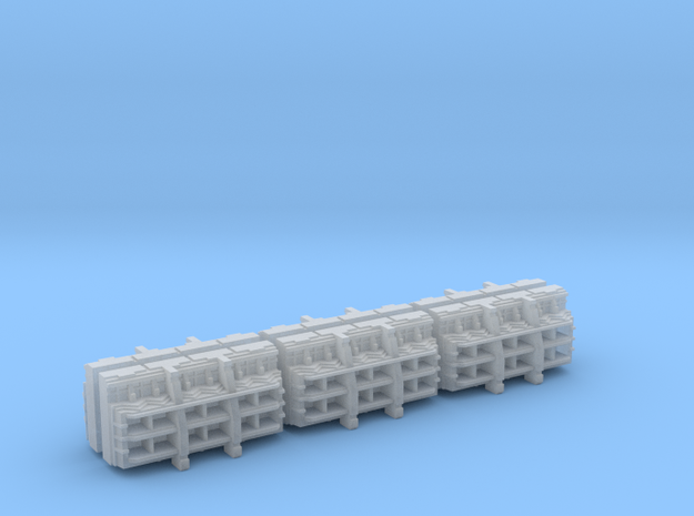 Gothic Spaceship Launch Bay Modules [Pack of 6]