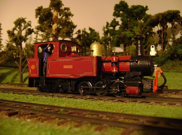 NWNGR Gowrie 7mm Scale