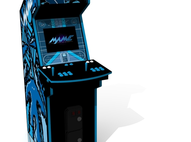 Arcade Machine in Full Color Sandstone