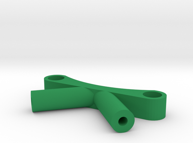 Antenna holder for ZMR250 in Green Processed Versatile Plastic