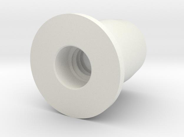 RACTRP in White Natural Versatile Plastic