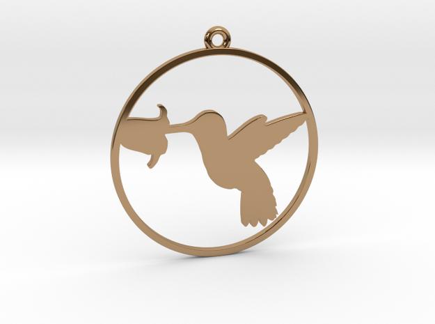 Kolibri1 in Polished Brass