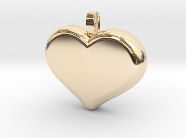 Heart2 in 14k Gold Plated