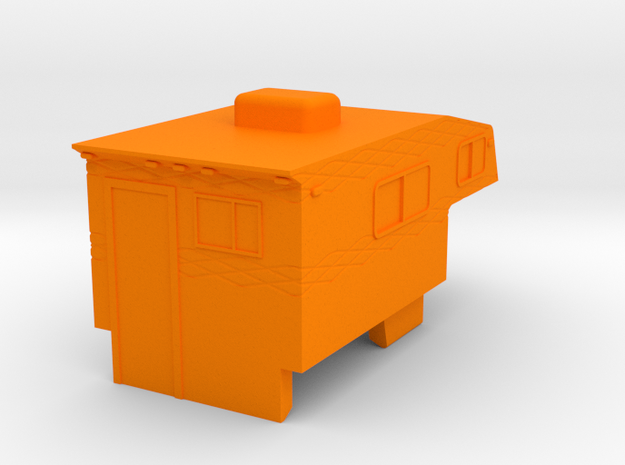 1/64 Pickup Camper 3d printed