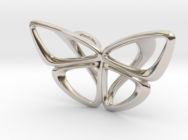 Moduza Butterfly Pendant 3d printed