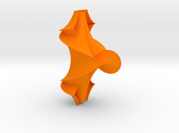 The Kuen Surface (1.5 turns) 3d printed