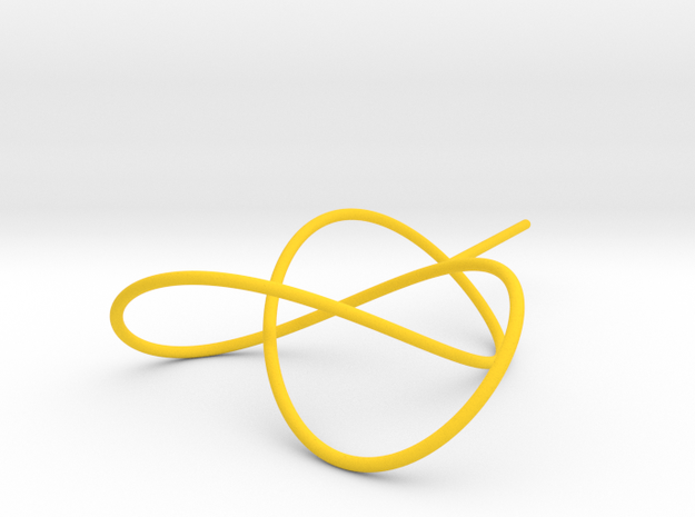 Trefoil Knot for Soap Experiments 3d printed