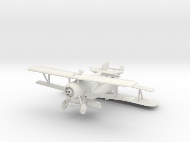 Nieuport 24 bis (Lewis) x 2 1/144 in White Natural Versatile Plastic