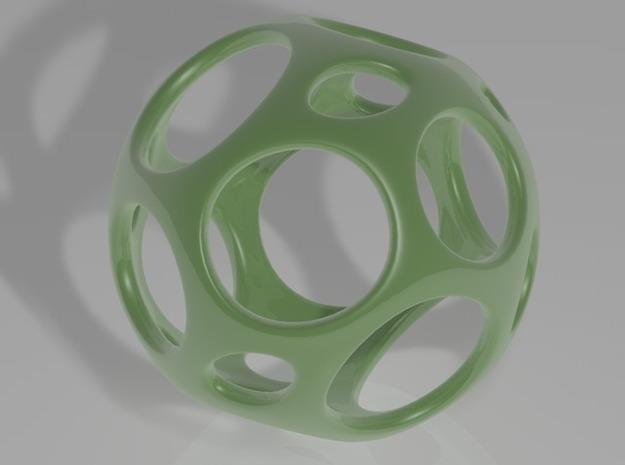 platonic ceramic 3d printed