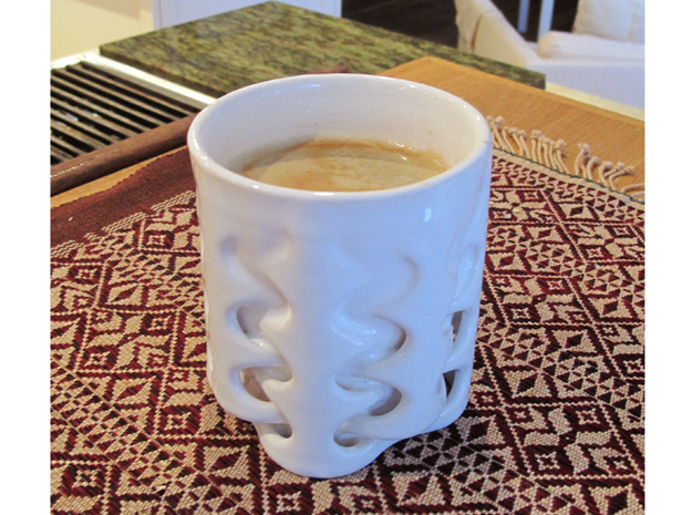 Weave Cup 3d printed Product Testing is Delicious Fun