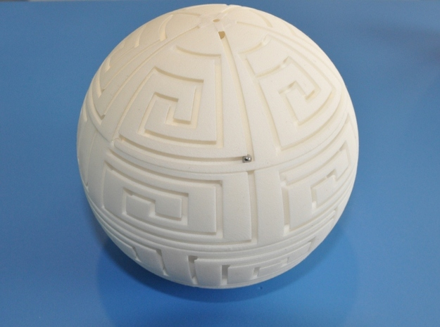 MazeBall 3d printed
