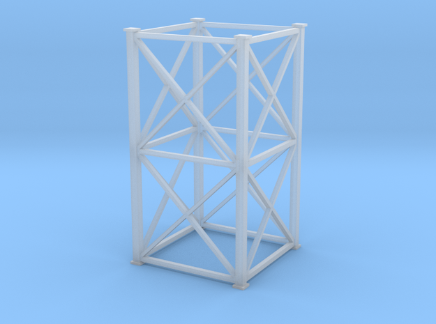 'N Scale' - 10'x10'x20' Tower in Smooth Fine Detail Plastic