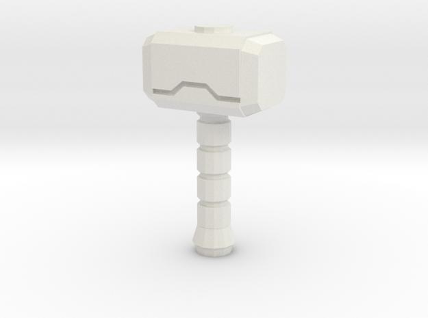 Hammer Of The Gods V2.2 in White Strong & Flexible
