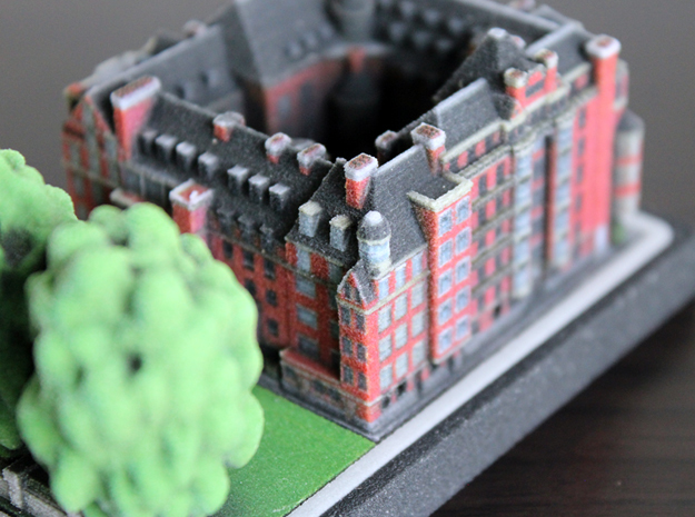 Church Commissioners Office Westminster 5 x 4  in Full Color Sandstone