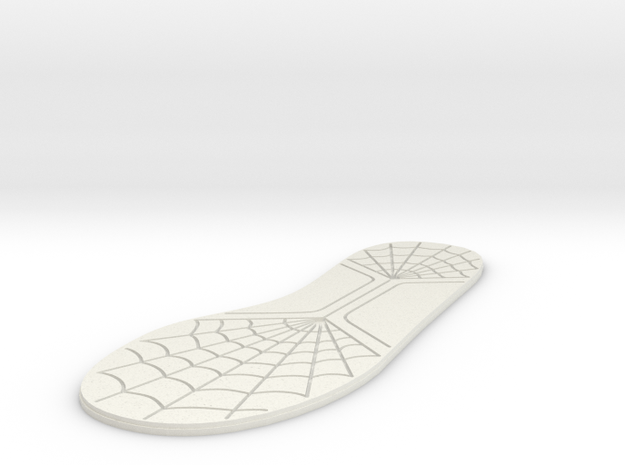 12 inch/30mm Sole in White Natural Versatile Plastic