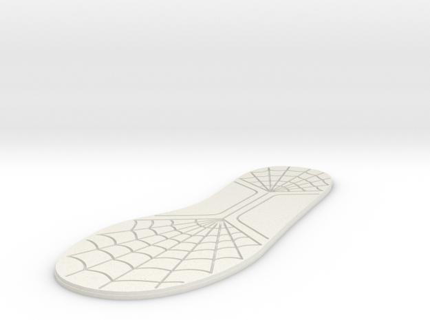 12 inch/30mm Sole in White Natural Versatile Plastic